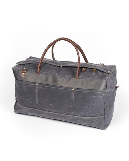 Wood&Faulk Cambrian Slate Grand Tourer Duffel