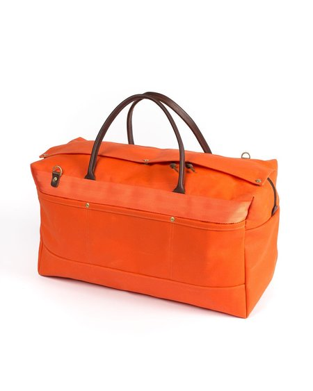 Wood&Faulk RTH Orange Grand Tourer Duffel