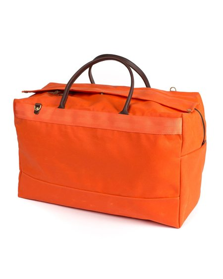 Wood&Faulk GT XL Duffel - Orange