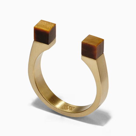 Ming Yu Wang Mag Ring - Brass