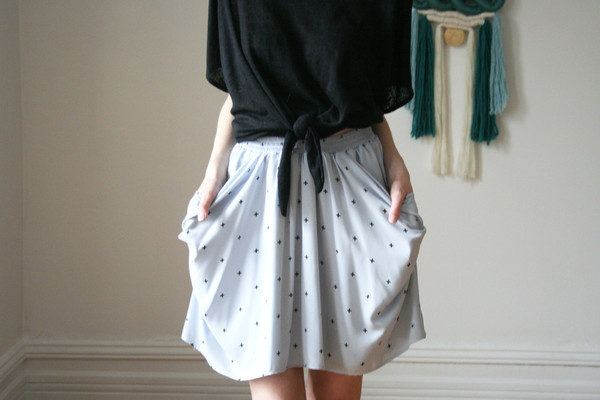 Eve Gravel Atlantic Skirt