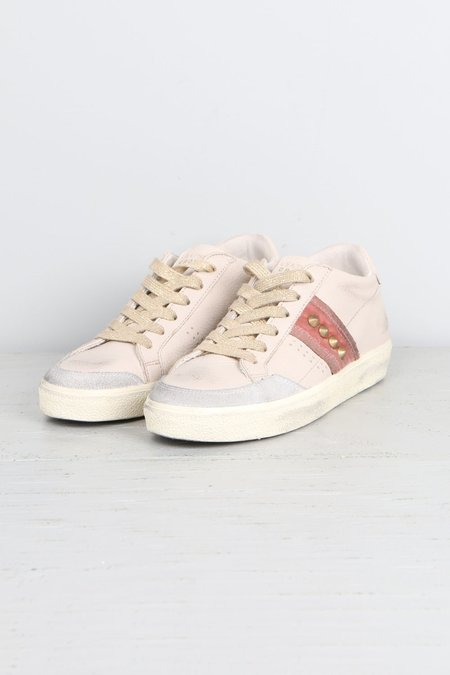 Leather Crown Donna Classic Pink Midtop