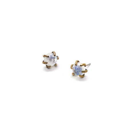 Laurel Hill Jewelry Io Studs - Moonstone