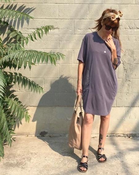 Calder Blake Kassia Tee Dress - Charcoal