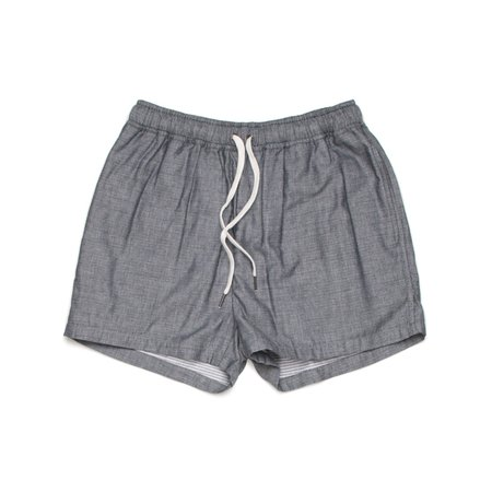 Milworks Chambray Lounge Short