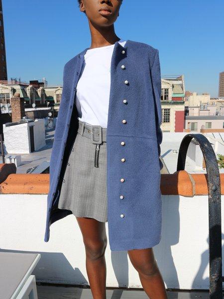 Anna K Pearl Button Coat