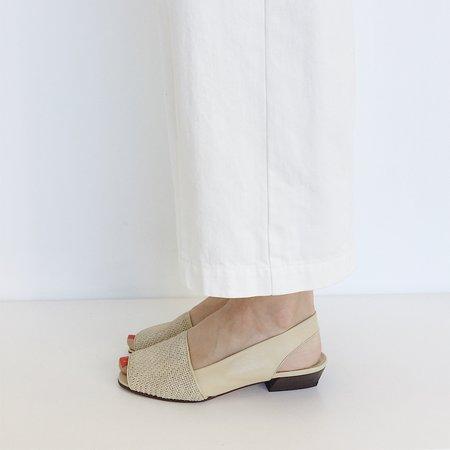 Johan Vintage Straw Woven Sandal