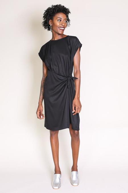 Shaina Mote Meta Dress in Ink