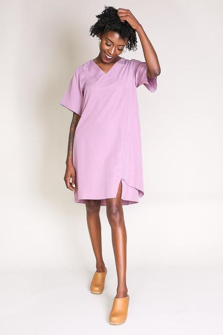 Elise Ballegeer Beate Dress in Mauve