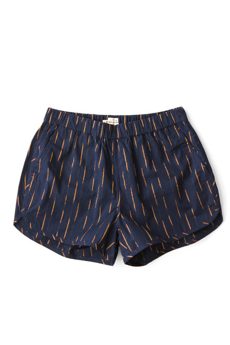 Bridge & Burn Luca in Navy-Gold Broken Stripe
