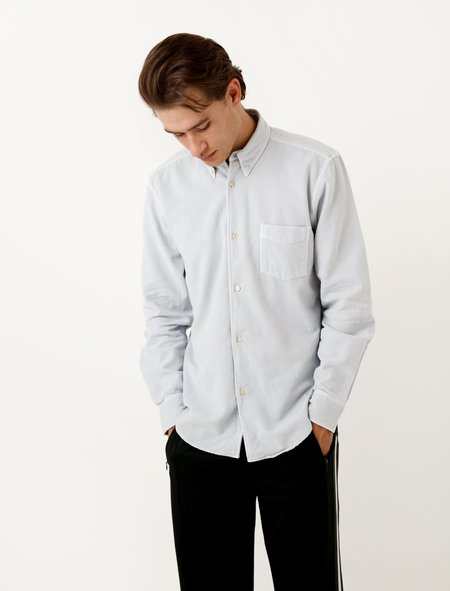 Our Legacy 1950s Shirt Snowgrey Ultimate Flannel