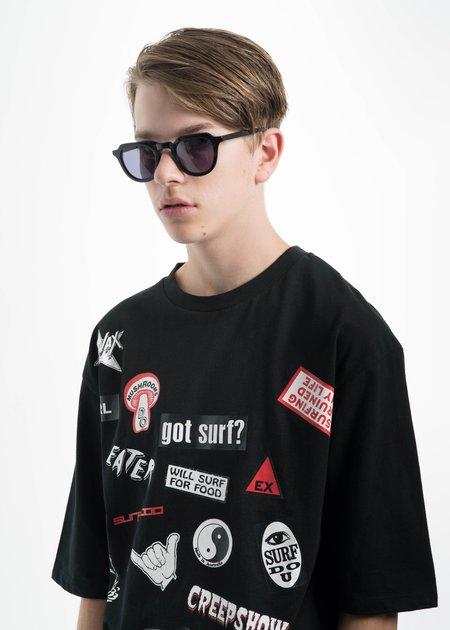 all in Black Voltaire Sunglasses