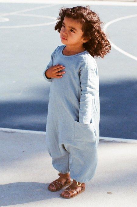 Kid's Boy+Girl Baby Jumper in Azure