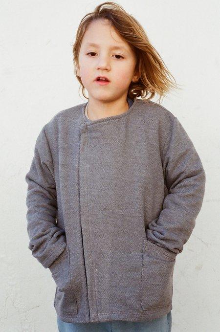 Kid's Shopboyandgirl Kyoto Jacket in Charcoal