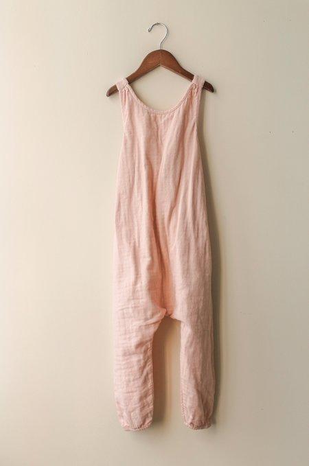 Kid's Shopboyandgirl Luna Overalls in Blush