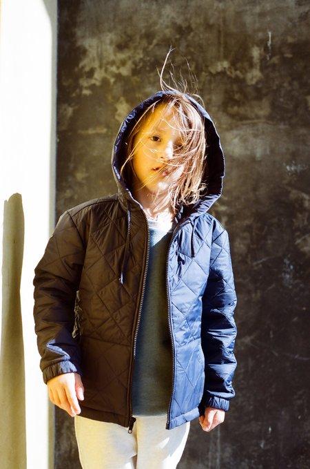 Kid's Shopboyandgirl Oak Jacket in Blue Puff