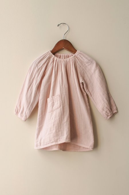 Boy+Girl Peasant Dress w/ Bloomer in Blush