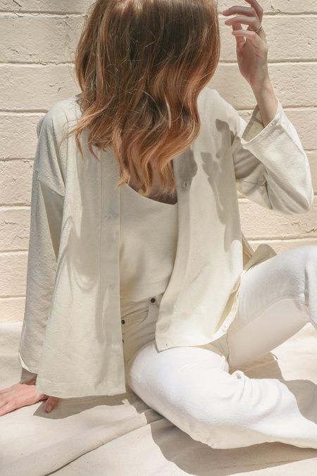 Ozma Kimono Wrap in Natural