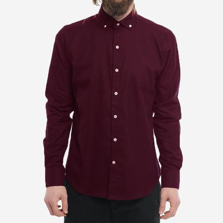 18 Waits The Windsor Shirt - Dark Maroon (MG Exclusive)