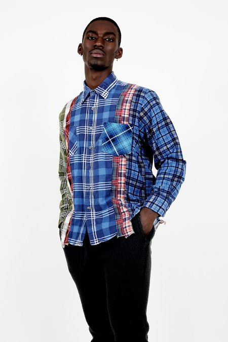 Rebuild by Needles 7 Cuts Flannel - Size Large