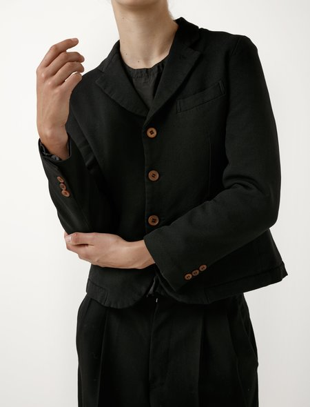 Comme des Garcons Comme des Garcons Comme des Garcons Womens Shrunken Twill Jacket