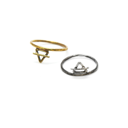 Laurel Hill Jewelry Element Ring - Air & Earth