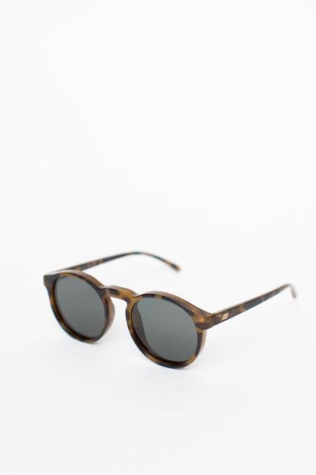Le Specs Cubanos Sunglasses - Milky Tortoise