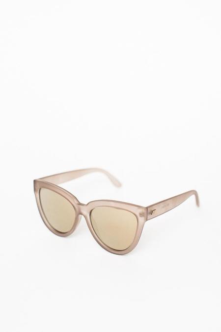 Le Specs Liar Liar Sunglasses - Matte Stone