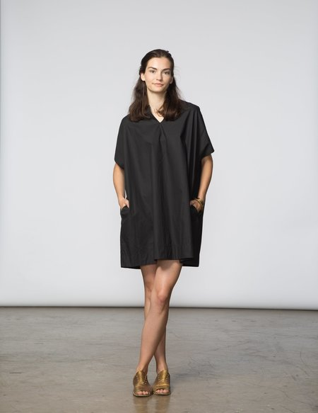 SBJ Austin Mary Dress in Black