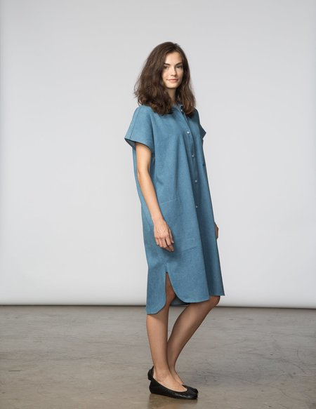 SBJ Austin R Dress - Light Denim