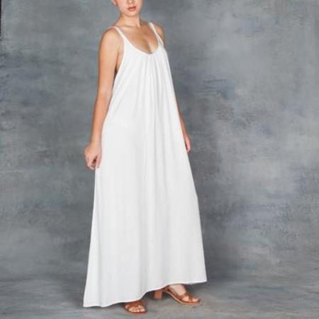 TYSA Eagle Dress Off White