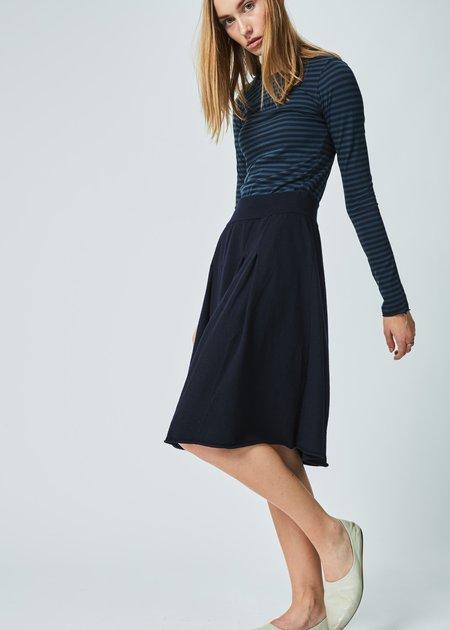 Labo.Art Franca Wool Skirt - Atlantic