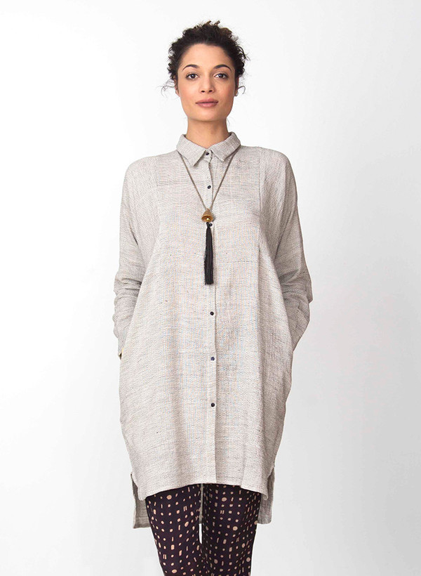 Seek Collective Stevie shirt dress | rhythm weave