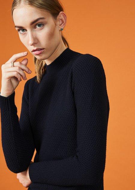 Labo.Art Pico Knit Merino Sweater - Atlantic