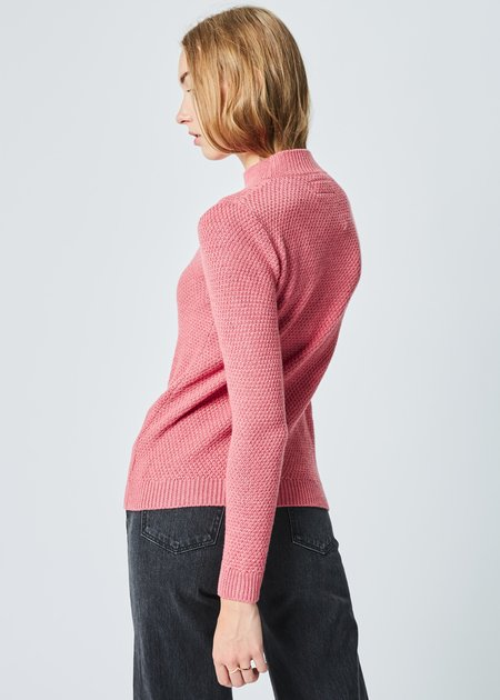 Labo.Art Pico Knit Merino Sweater - Rosebud