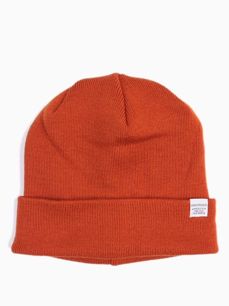 Norse Projects Norse Top Beanie Ochre