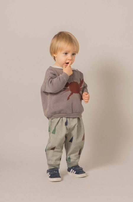 Kid's Bobo Choses BAGGY SAILS PRINT TROUSERS