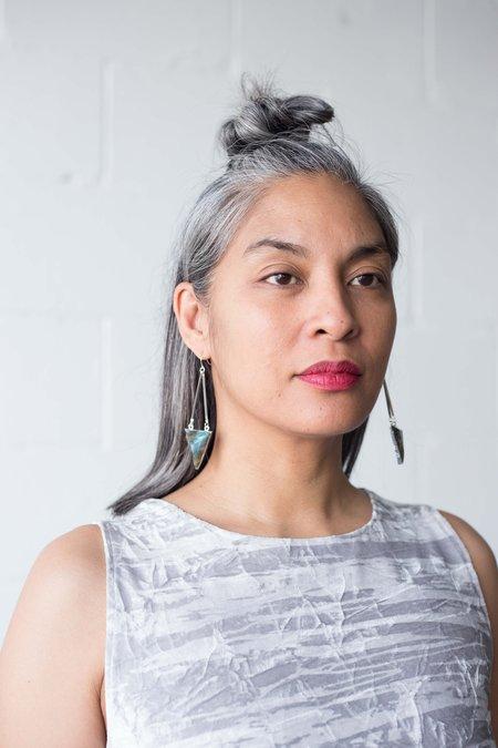 Sarah Mulder Embassy Earrings - Silver