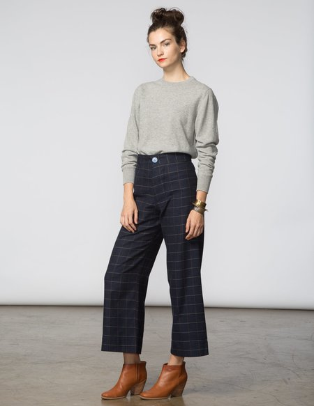 SBJ Austin Crewneck Cashmere Sweater - Grey
