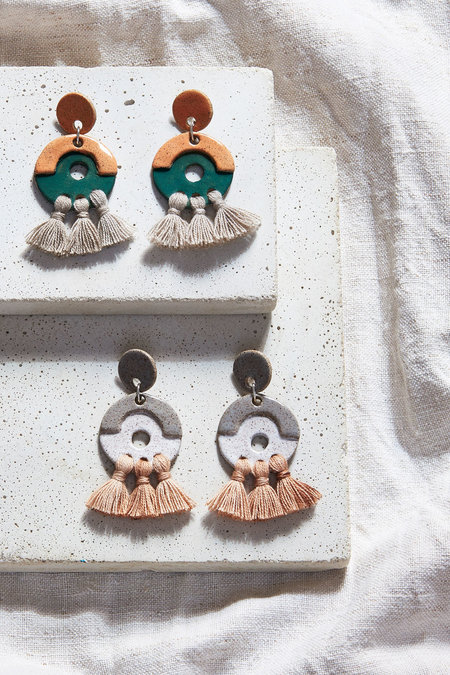 Gamma Folk Calliope Earrings