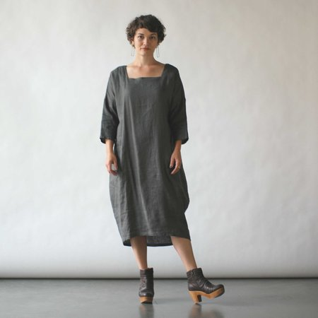 Sugar Candy Mountain Bobbi Dress in Charcoal