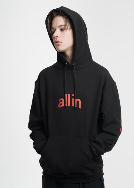all in Black Champion Edition Arc Logo Hoodie