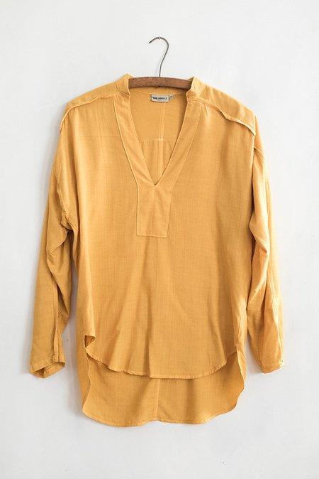 THE ODELLS Shirt Tunic Deep Mustard