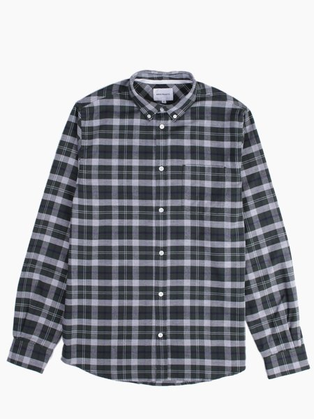 Norse Projects Anton Check Moss