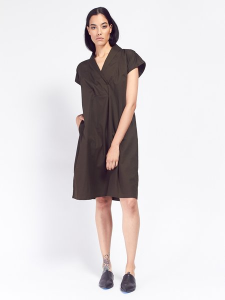 Kowtow Hunter Dress - Dark Moss