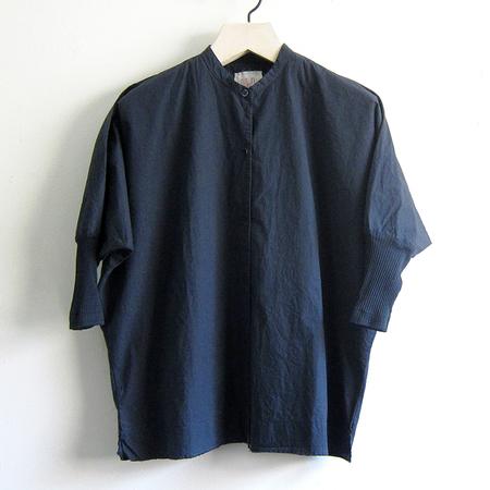 H+ Hannoh Wessel Shirt Christina - Blue Notte