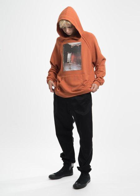Komakino Orange Heavy Jersey Raglan Hoodie with Patch 18