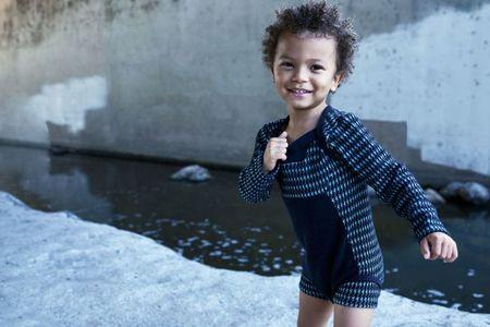 Kid's Infantium Victoria Structured Bodysuit