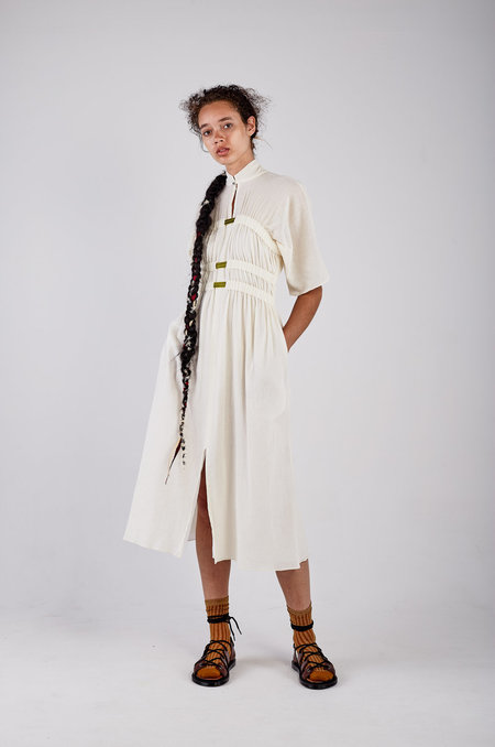 Kahle GATHERED KIMONO DRESS
