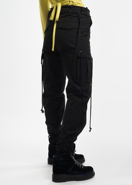 Hyein Seo Black Cargo Pants